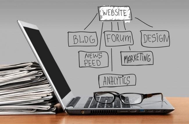 Como criar o conteúdo do seu site?
