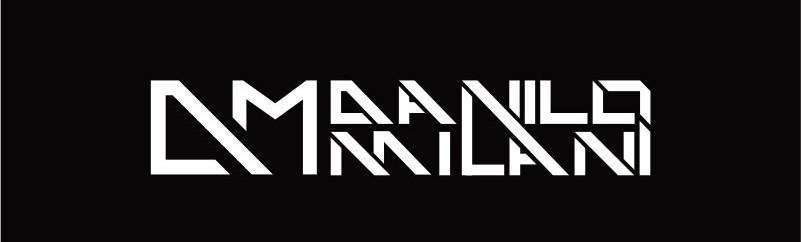 Logotipo desenvolvido pela Agência do Site para DJ Maalino Milani.