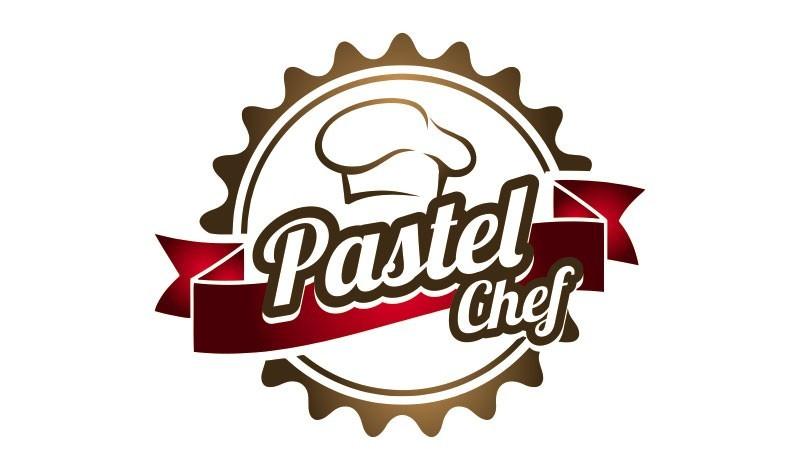 logotipo pastel chef