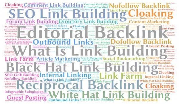 link building significado