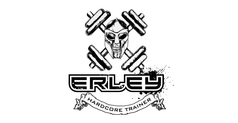 logomarca para academia erley