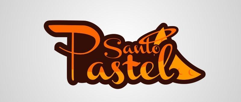logotipo pastel santo