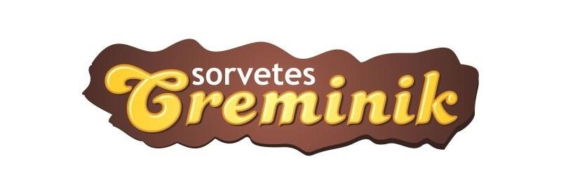logo tipo sorvetes creminik sorveteria