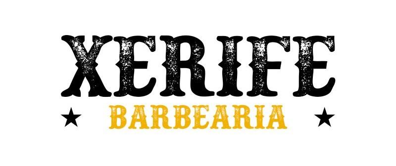logo xerife barbearia