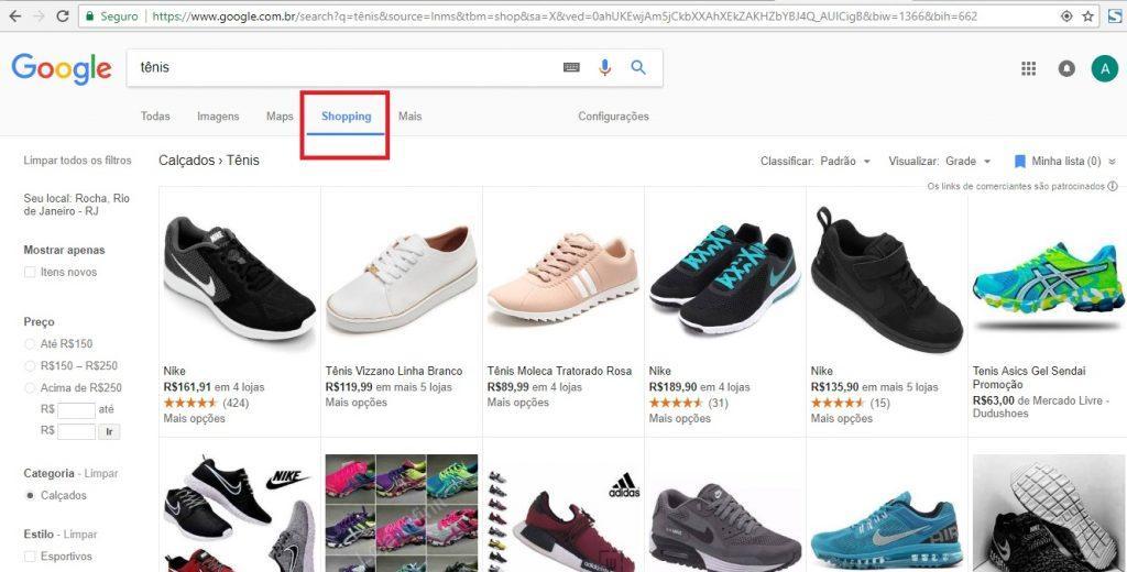 Como divulgar produtos de loja virtual - Google Shopping