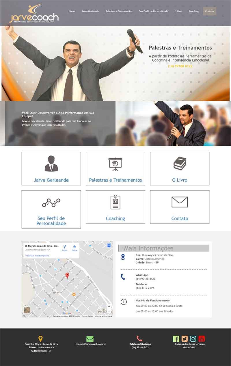 Criar Site para Coach, Consultor e/ou Palestrante