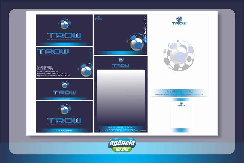 Identidade Visual para Empresa desenvolvido pela Agência do Site